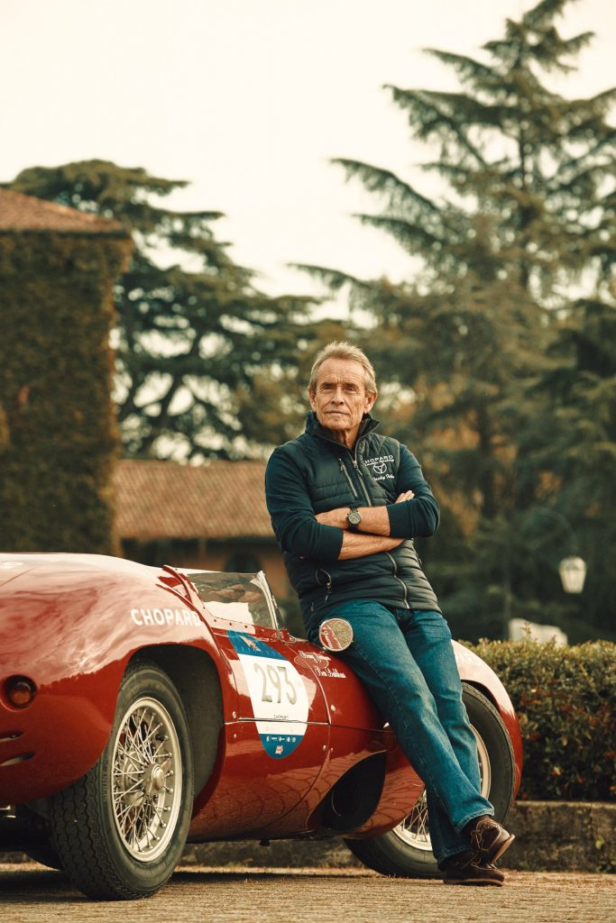 Jacky Ickx before the start of the 1000 Miglia 2020 - Brescia, Italy (c) Adam Fussell