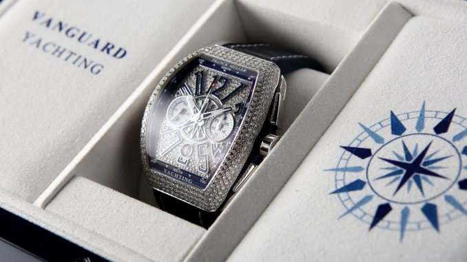 Franck Muller Vanguard Yachting Anchor™ Skeleton