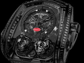 Bugatti x Jacob & Co. Twin Turbo Furious La Montre Noire Bugatti