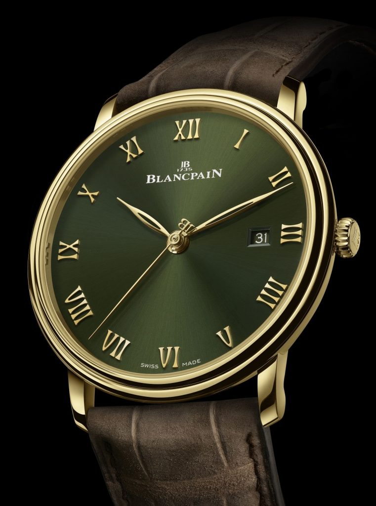 Blancpain Villeret Extraplate Boutique edition Green