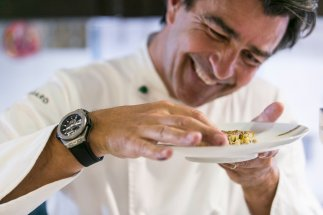 Hublot Ambassador Yannick Alleno three Michelin star chef