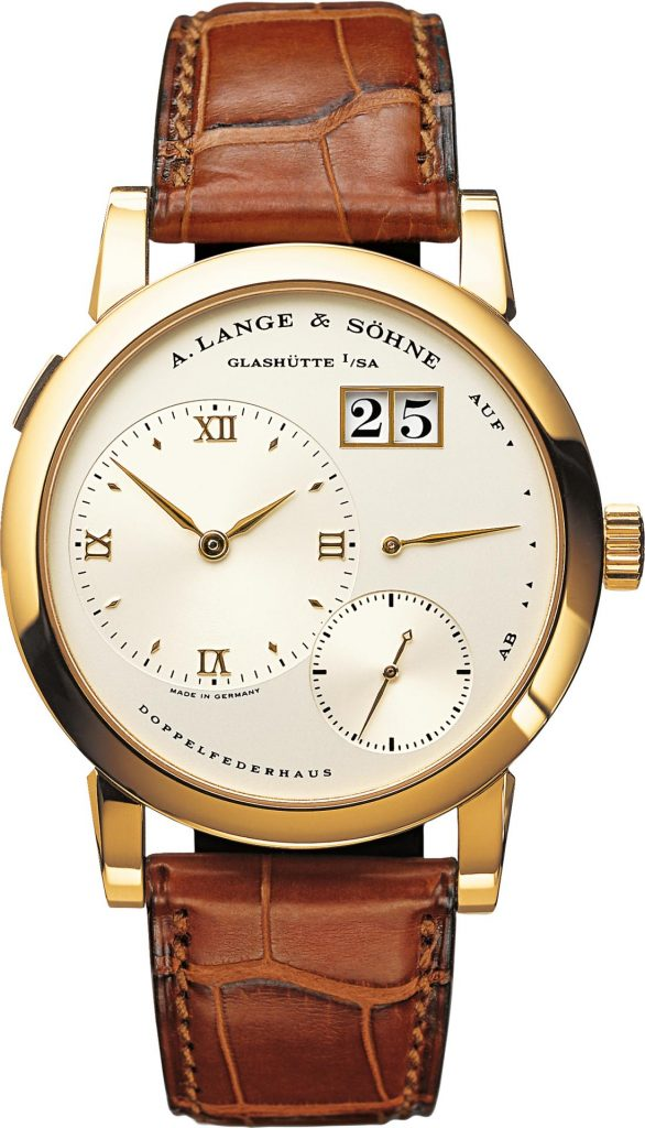 "Various models of A. Lange & Söhne watches were also sold at a total of five auctions held by Phillips, Dr. Crott and Sotheby's from 6 to 12 November 2020. A classic DATOGRAPH from 2009 went under the hammer at Geneva auction house Phillips' ""Retrospective: 2000–2020"" auction on 8 November. The watch in yellow gold with a black dial (Ref. 403.041) sold for the equivalent of EUR 165,000, roughly four times its original retail price. Known in collectors' circles as the ""yellow jacket"", production of this edition was limited to just a few watches."