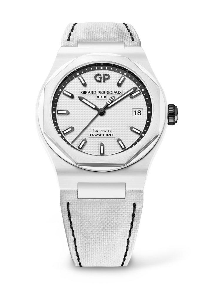 Girard-Perregaux x Bamford Watch Department Laureato Ghost