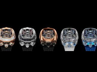 Jacob & Co. Bugatti Chiron Tourbillon Timepiece Limited Editions