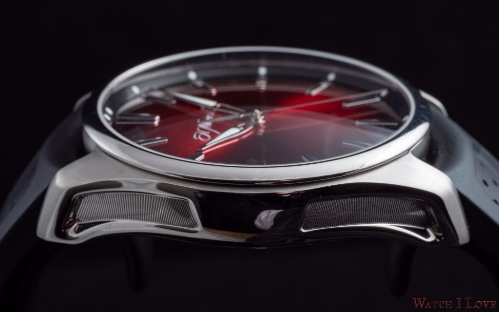 H. Moser & Cie Pioneer Centre Seconds Swiss Mad Red