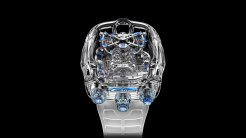 "The Jacob & Co. x Bugatti Chiron Tourbillon Limited Edition ""Sapphire Crystal""."