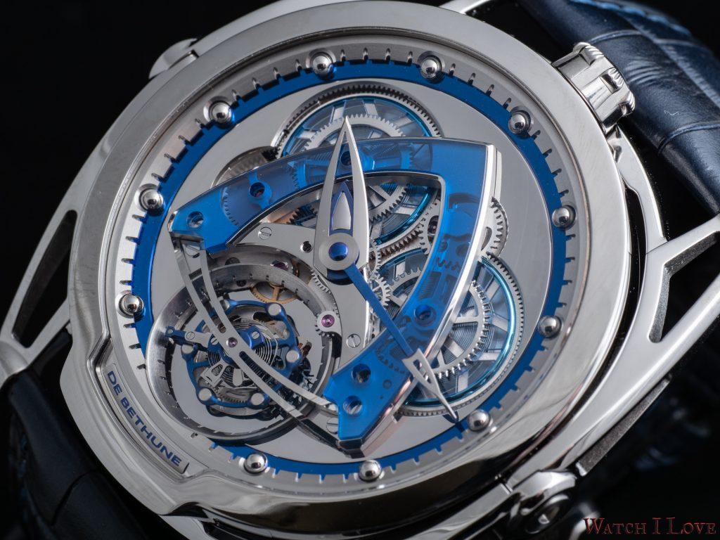 De Bethune DB28 Steel Wheels Sapphire Tourbillon