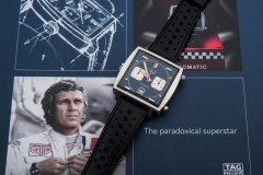 Steve Mcqueen's Heuer Monaco Gifted To Personal Mechanic, Haig Alltounian Achieves $2,208,000 At Phillips Auction
