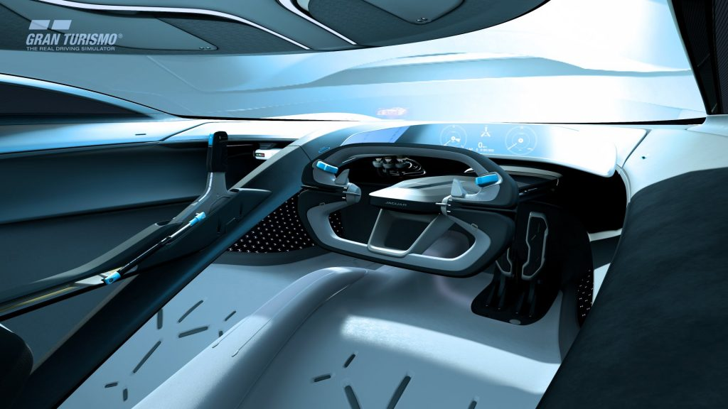 v Jaguar Vision Gran Turismo SV