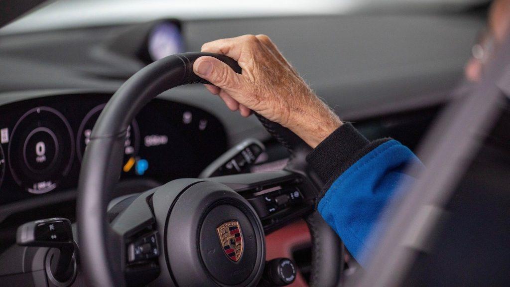 Porsche Taycan for 'Charlie' Duke