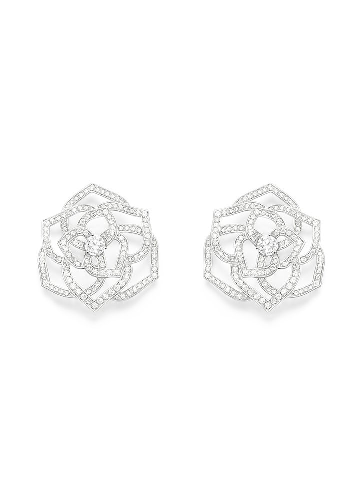 Piaget Rose Earrings G38U0082