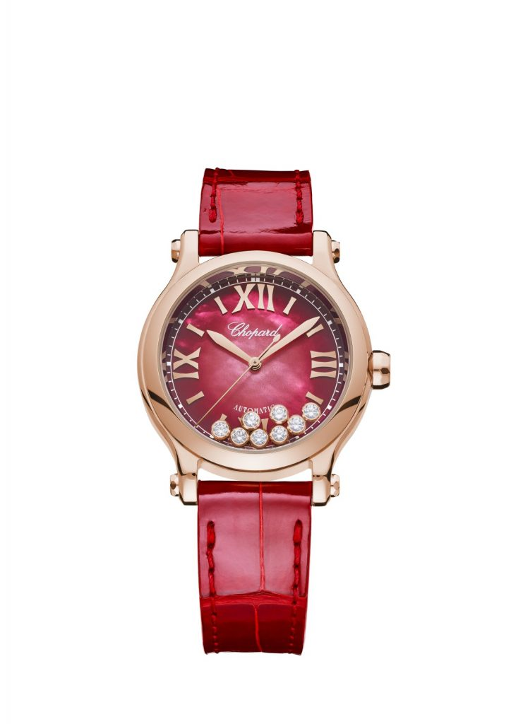 Chopard Happy Sport Red Mother-Of-Pearl