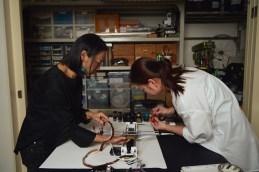 Phoebe Hui and Ying Kwok