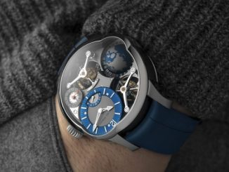 Greubel Forsey GMT Quadruple Tourbillon Titanium