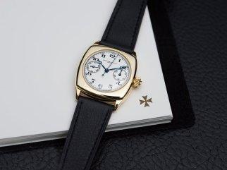 18K Yellow Gold Chronograph Wristwatch (ref 11007)