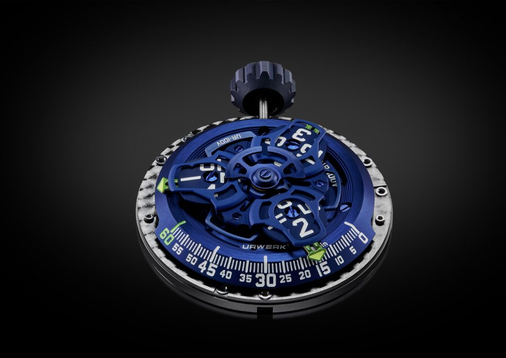 "URWERK UR-100V ""Blue Planet"""
