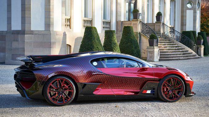 Bugatti Divo 'Lady Bug': a masterclass in customization and creativity – Watch I Love