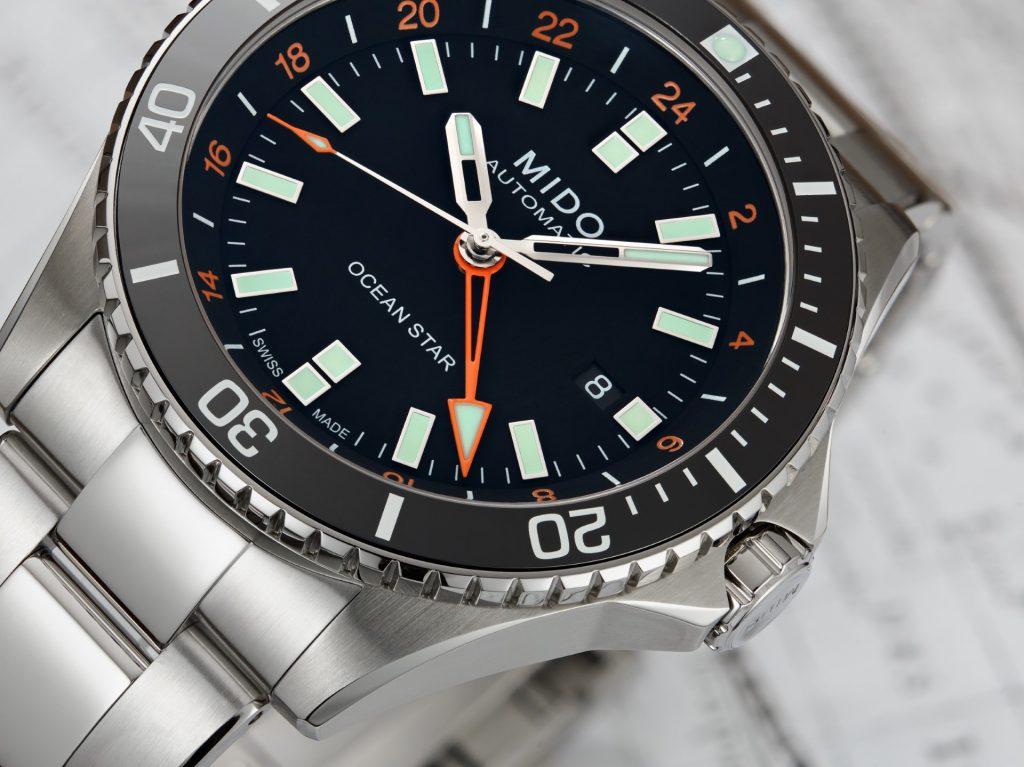 Mido Ocean Star GMT Orange