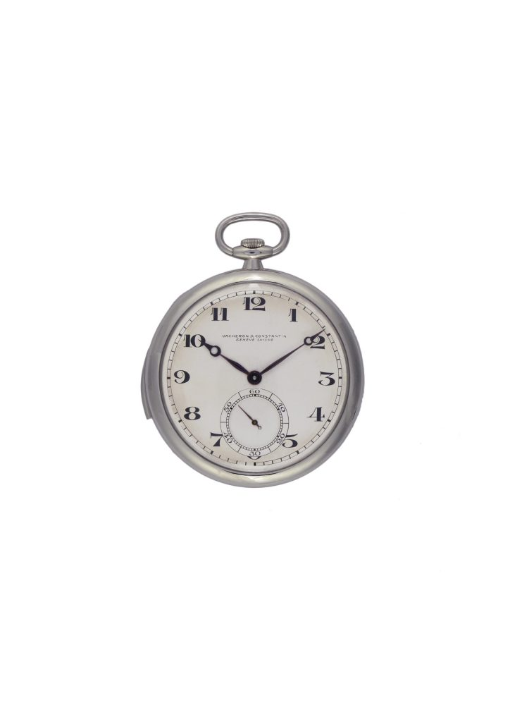 Platinum Open Face Ultra-Thin Minute Repeater Pocket Watch(ref 11757) – 1928