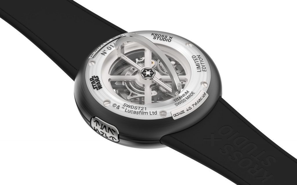 Star Wars x Kross Studio Death Star Tourbillon Watch