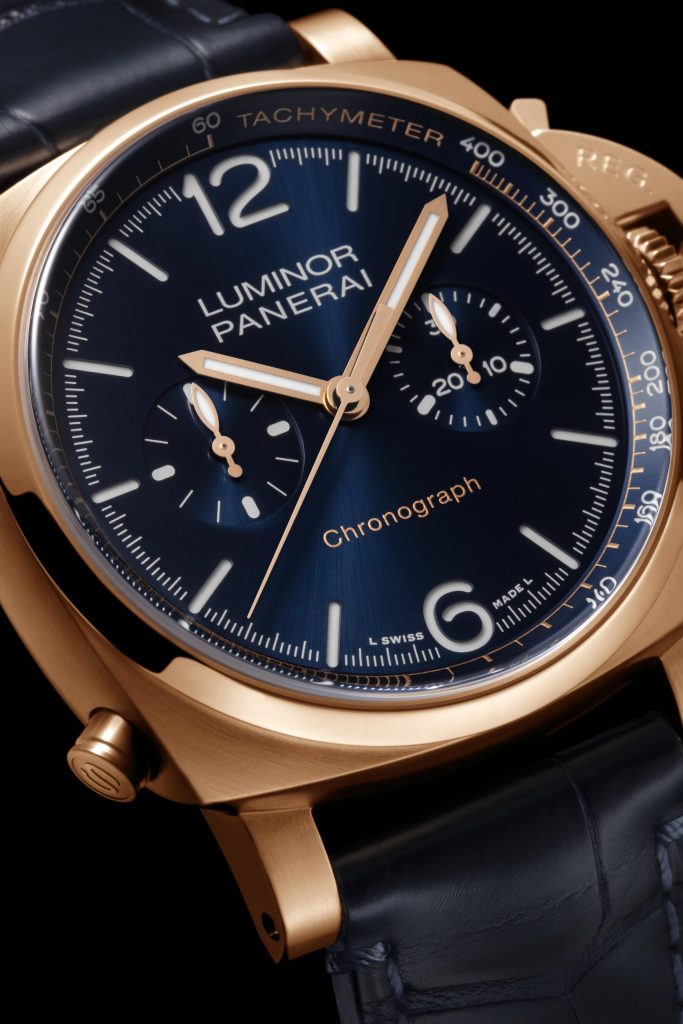 Panerai Luminor Chrono GoldtechTM Blu Notte