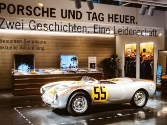 Porsche and TAG Heuer
