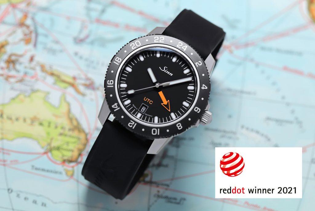 Sinn Spezialuhren model 105 St Sa UTC receives the Red Dot Award