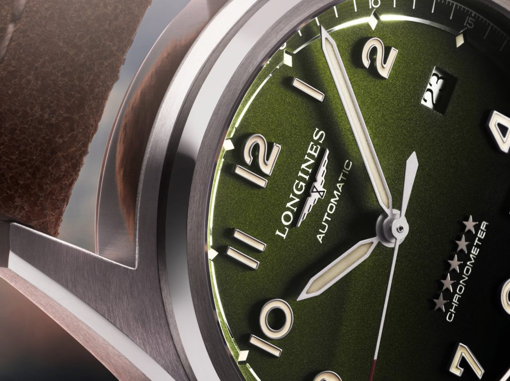 Longines Spirit Green