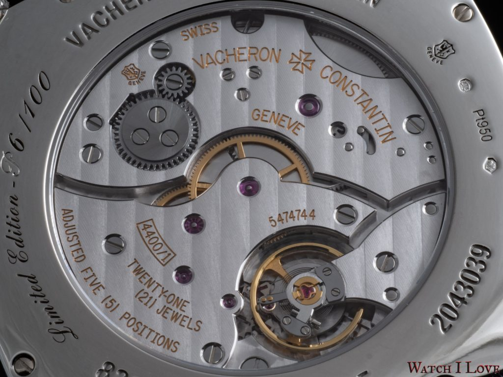 Historiques American 1921 – Collection Excellence Platine
