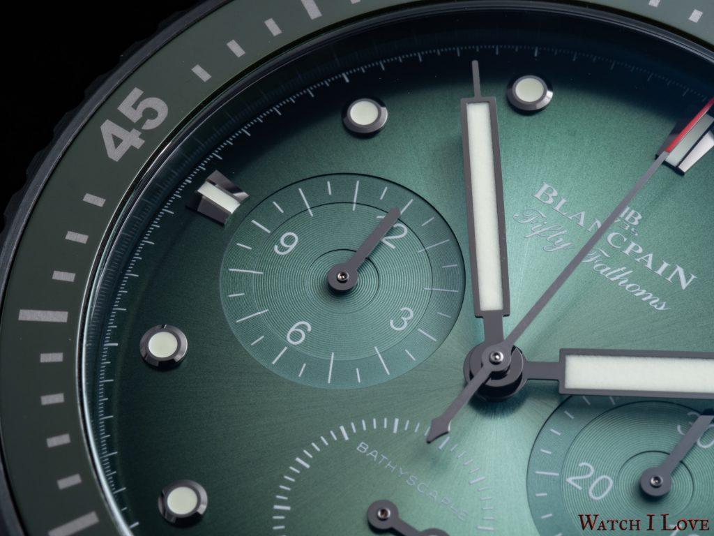 Blancpain Fifty Fathoms Bathyscaphe Chronographe Flyback Green
