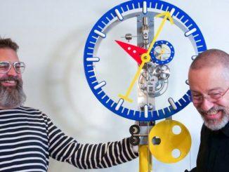 Lebru X Silberstein KB2 clock