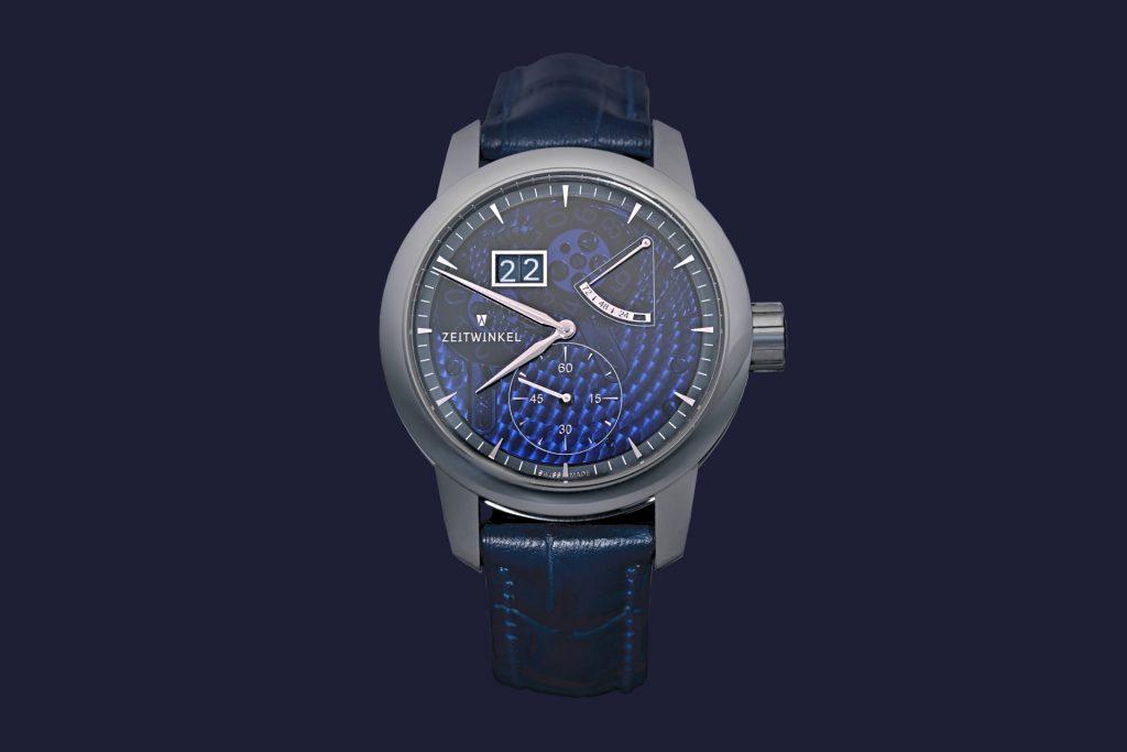 """Zeitwinkel """"273° Saphir Bleu"""""""