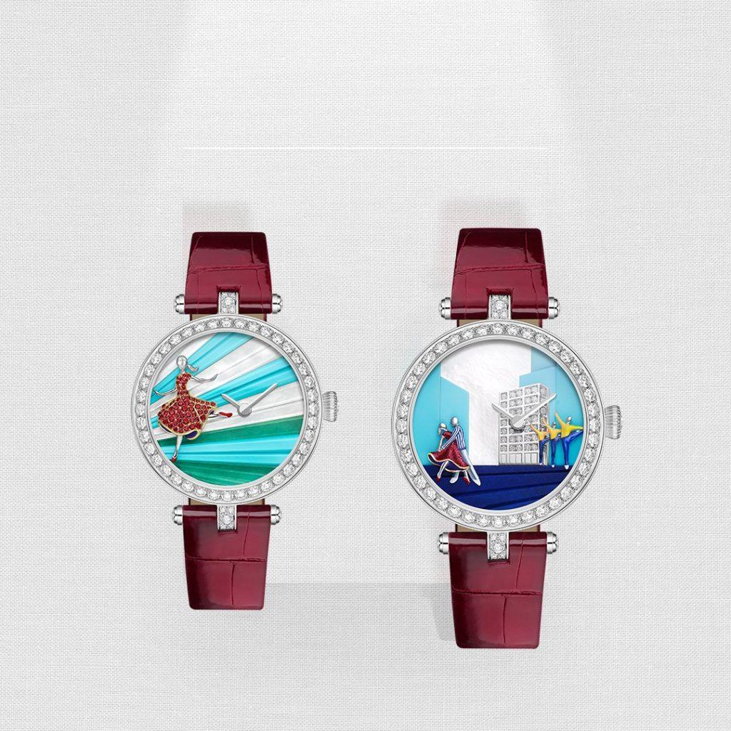 Van Cleef & Arpels Lady Danse and Lady Danse Duo watches
