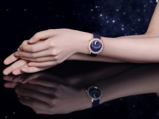 Jaeger-LeCoultre presents the Rendez-Vous Dazzling Moon Lazura - A sparkling ode to the night sky