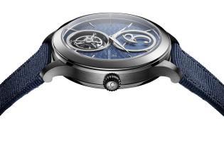 Charles Girardier1809 Cobalt Blue 41 mm