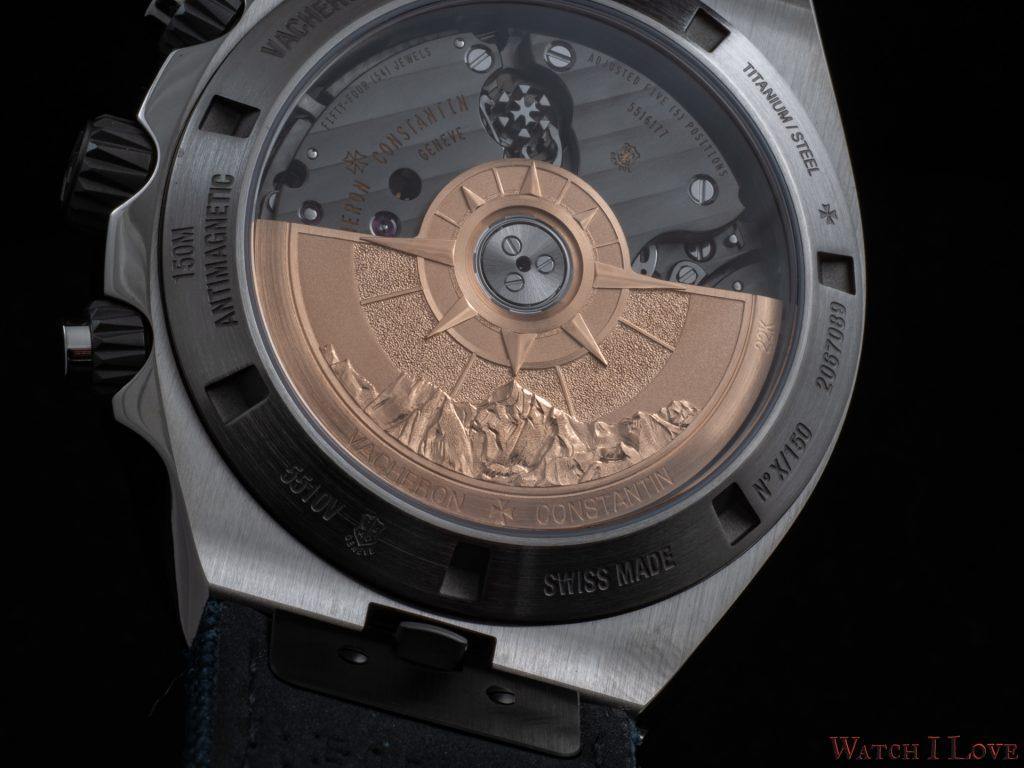 "Overseas chronograph ""Everest"""