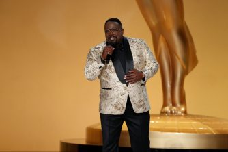 Cedric the Entertainers wears Girard-Perregaux to Emmys
