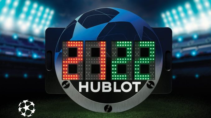 Hublot renews and builds on its contribution to European football
