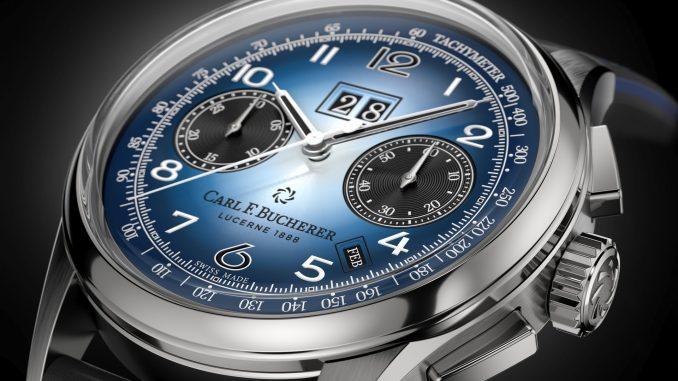 Heritage BiCompax Annual Bucherer BLUE
