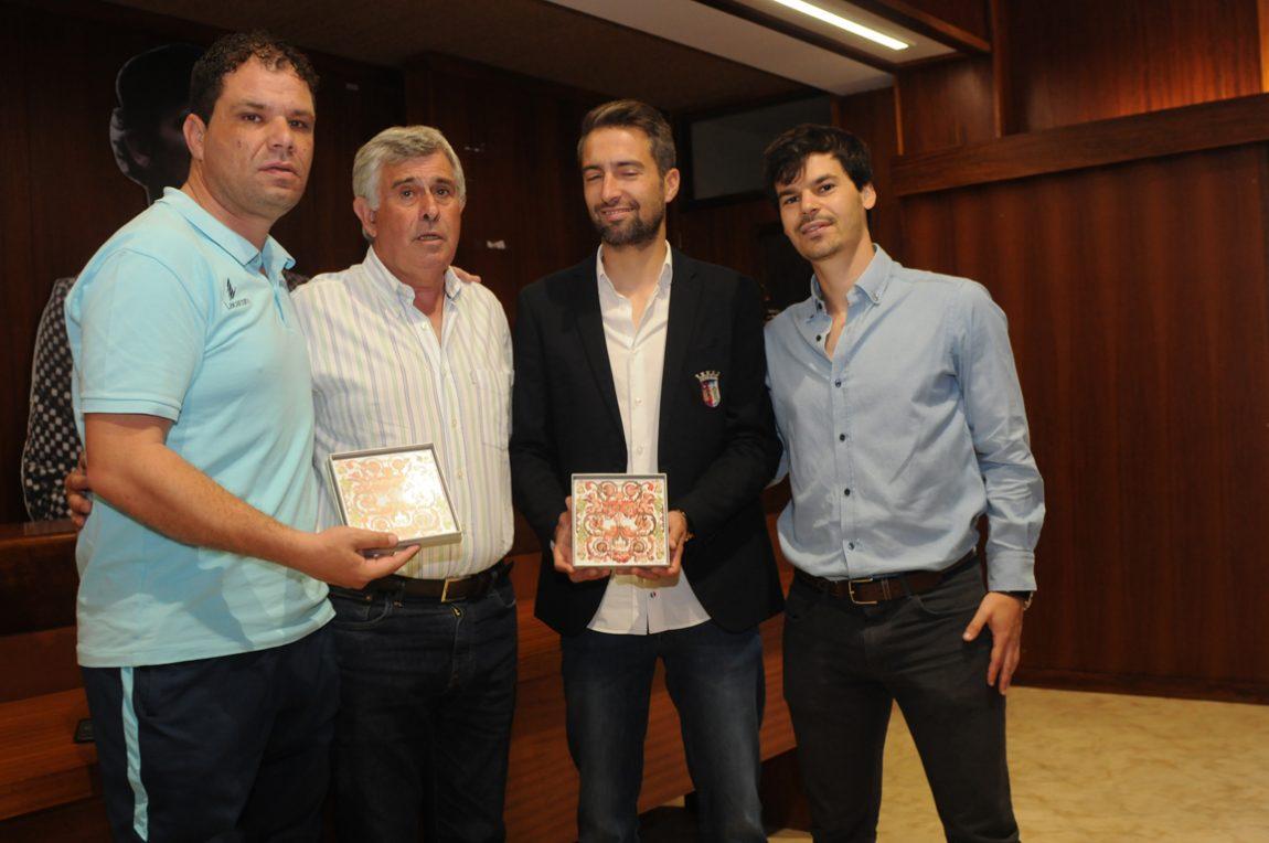 Município de Amares homenageou treinadores campeões