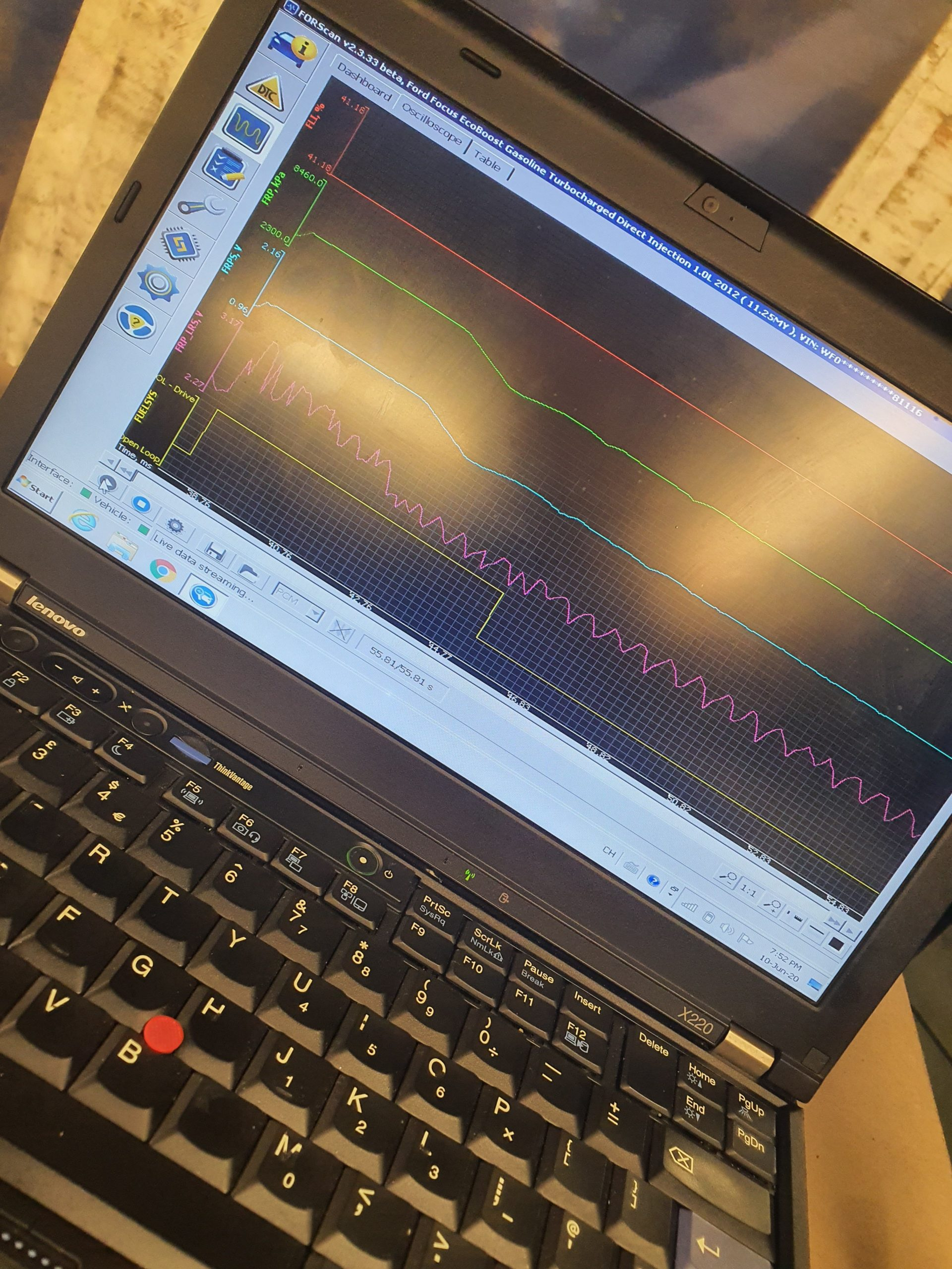 Ford Diagnostic fault finding using ford IDS
