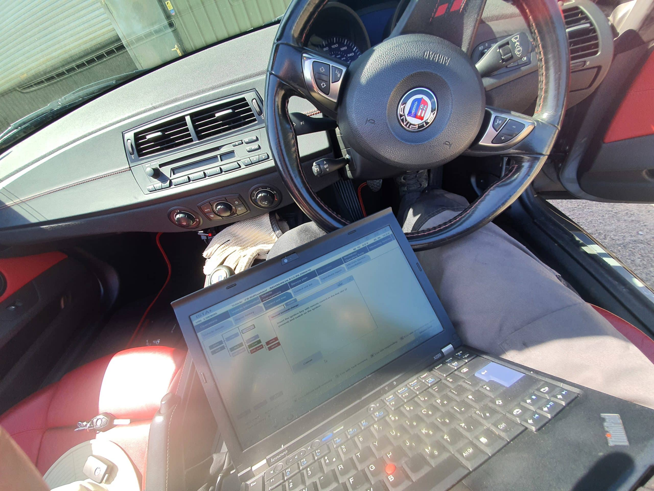BMW Alpina Diagnostics