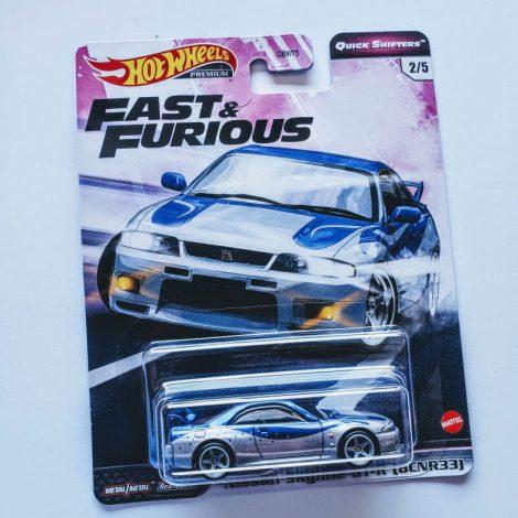 Hot Wheels 2020 Fast & Furious Premium Quick Shifters 2 of 5 Nissan Skyline GT-R (BCNR33) GJR79
