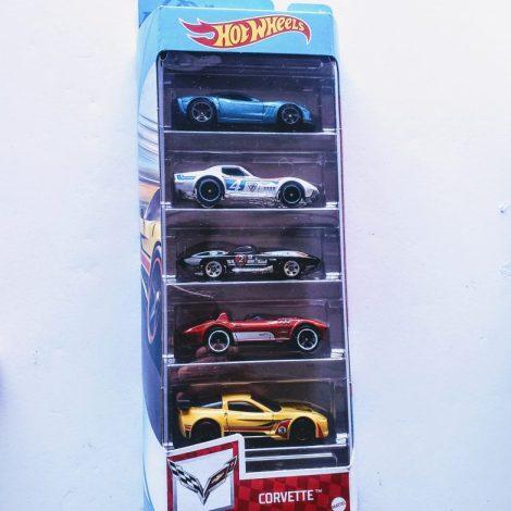 Hot Wheels 2021 Corvette 5 pack GTN35