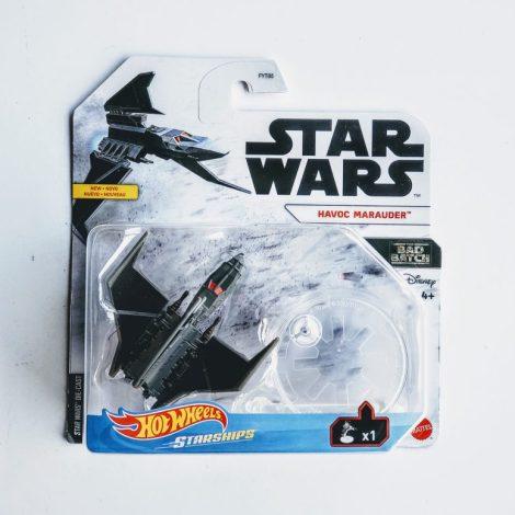 Hot Wheels 2021 Star Wars Starships Bad Batch Havoc Marauder GVF59