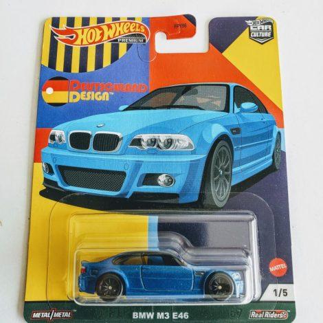 Hot Wheels 2021 Car Culture Deutschland Design 1of 5 BMW M3 E46 GRJ72