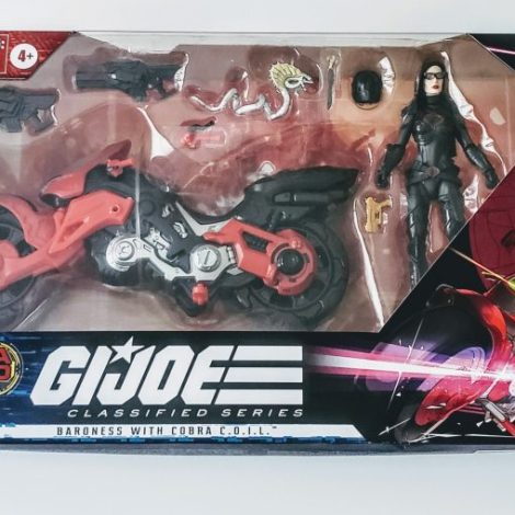 Hasbro GI Joe Classified Cobra Island Baroness with Cobra COIL