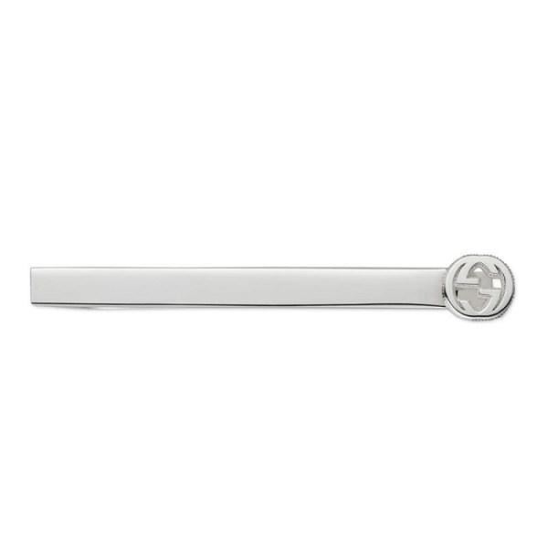 Gucic Interlocking G Tiebar YBF499061001_0