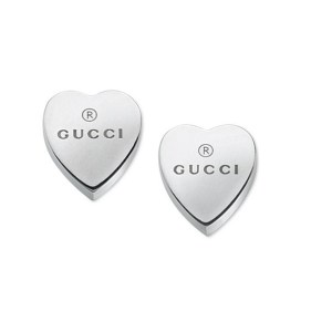 Gucci Trademark Heart Motif Stud Earrings YBD22399000100U_0