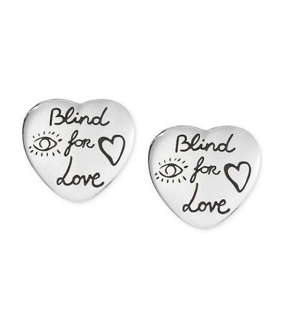 Gucci Blind For Love Stud Earrngs YBD45525500100U_0
